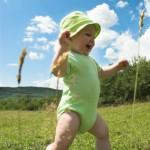 Bébé en randonnée