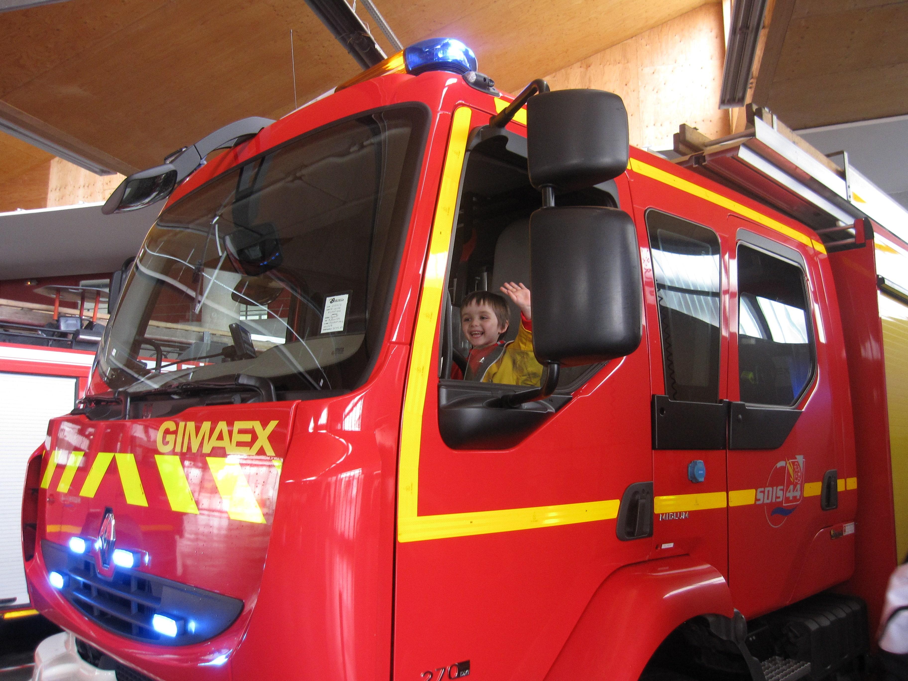 Sortie en famille : La caserne de pompiers