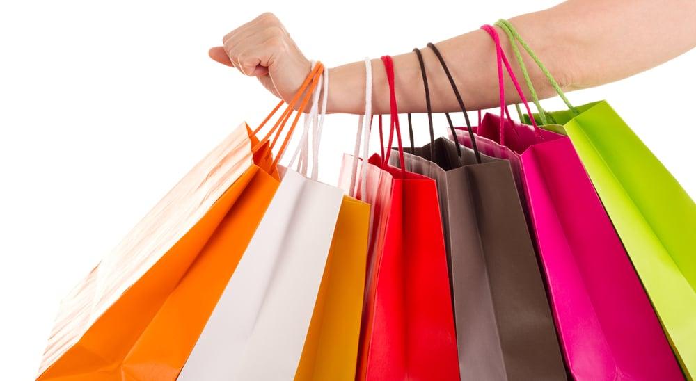 Shopping avec un enfant