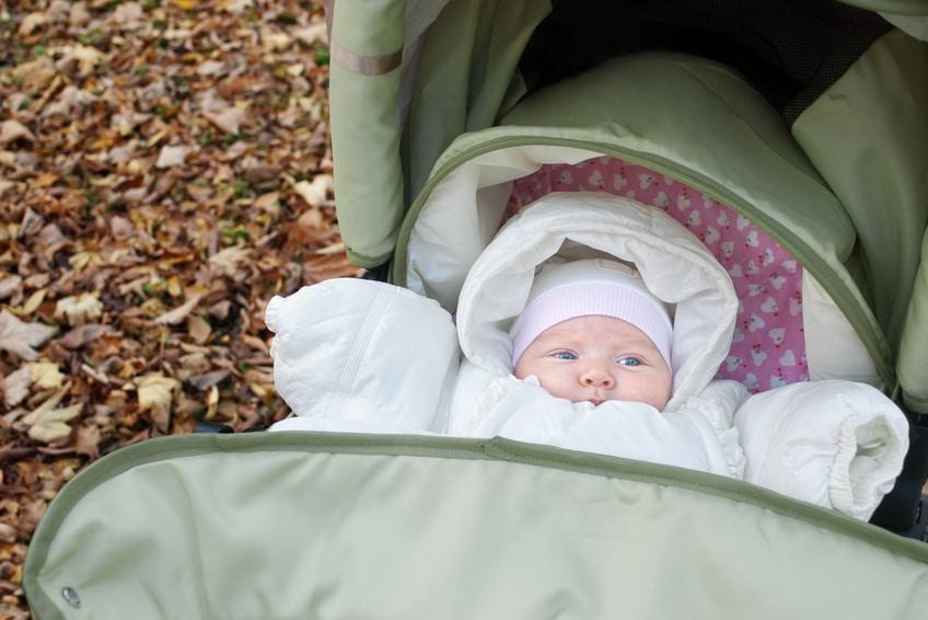 Habiller bébé pour le froid
