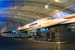 Concorde - Musée de l'espace - Copie