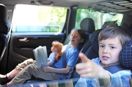 Trajet en voiture