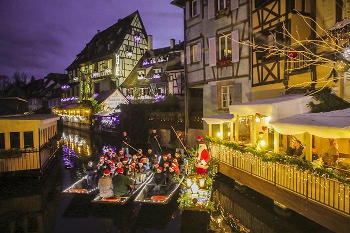 Marché de Noël de Colmar en famille