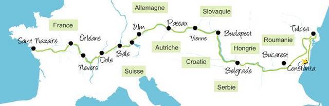 itinéraires vélo EuroVélo6