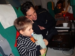 voyage en famille avion
