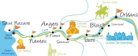 itinéraires vélo La Loire à Vélo
