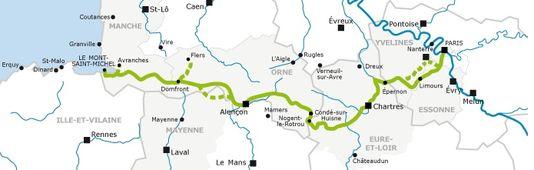 itinéraires vélo - Véloscénie