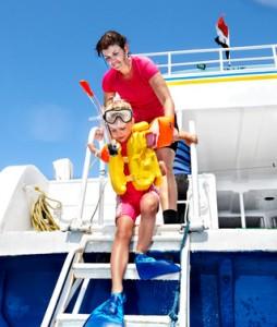 snorkeling famille