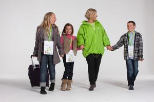 enfants voyageant seuls