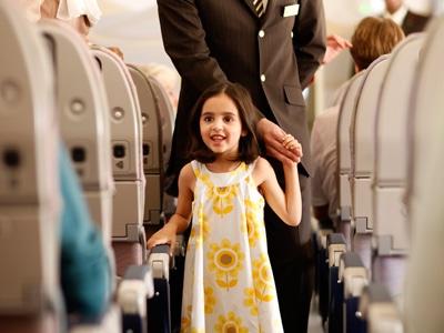 voyager avec enfant