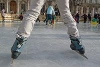 Patinoire sur la place de l'Hôtel de ville - Patins à glace