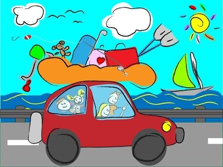 Voyage avec enfant