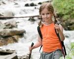 randonnée fille alpes