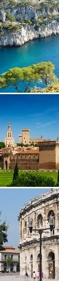Cassis, Avignon, Nîmes