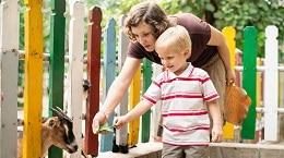 A quel âge emmener un enfant en vacances