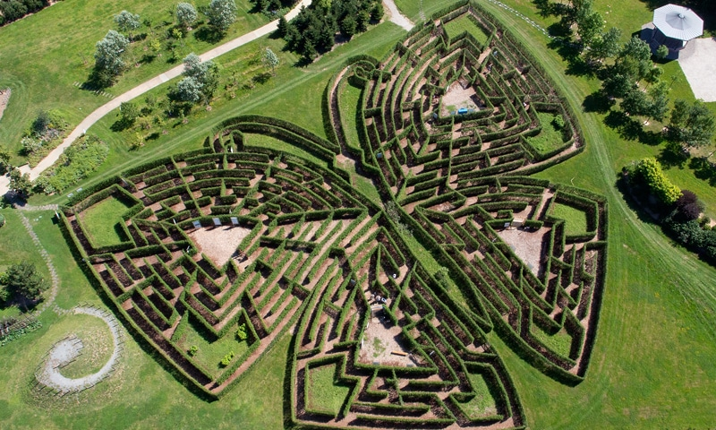 labyrinthe Corrèze