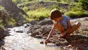 enfant vacances montagne