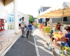 camping Les Pirons terrasse