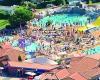 camping les Charmettes vue piscine
