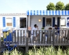camping Les Pirons mobil-home