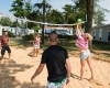 camping les Brunelles beach-volley