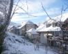 Résidence Les Balcons de la Neste bâtiment neige