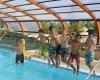 camping de la Piscine piscine couverte