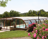 Domaine de la Rhonie piscine fleurs