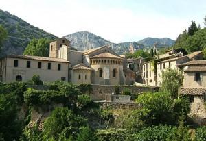 L'abbaye de Gellone à St-Guilhem-le-désert