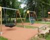 Aire de jeux adaptée handicap Corrèze
