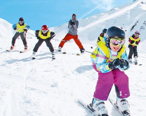 stage ski enfants UCPA