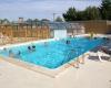 Camping Hauts de Port Blanc piscine