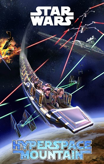 HYPERSPACE mountain 25 ans