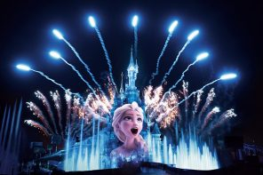 Spectacle nocturne 25 ans Disneyland Paris